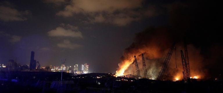 Wybuch w Bejrucie. Ekspertka: Trudno uwierzyć, że to celowe działanie