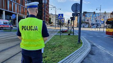 Wypadek w Łodzi