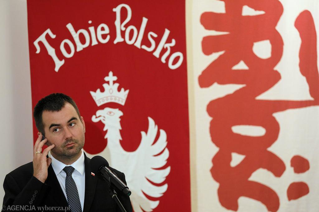 Rzecznik prezydenta Błażej Spychalski