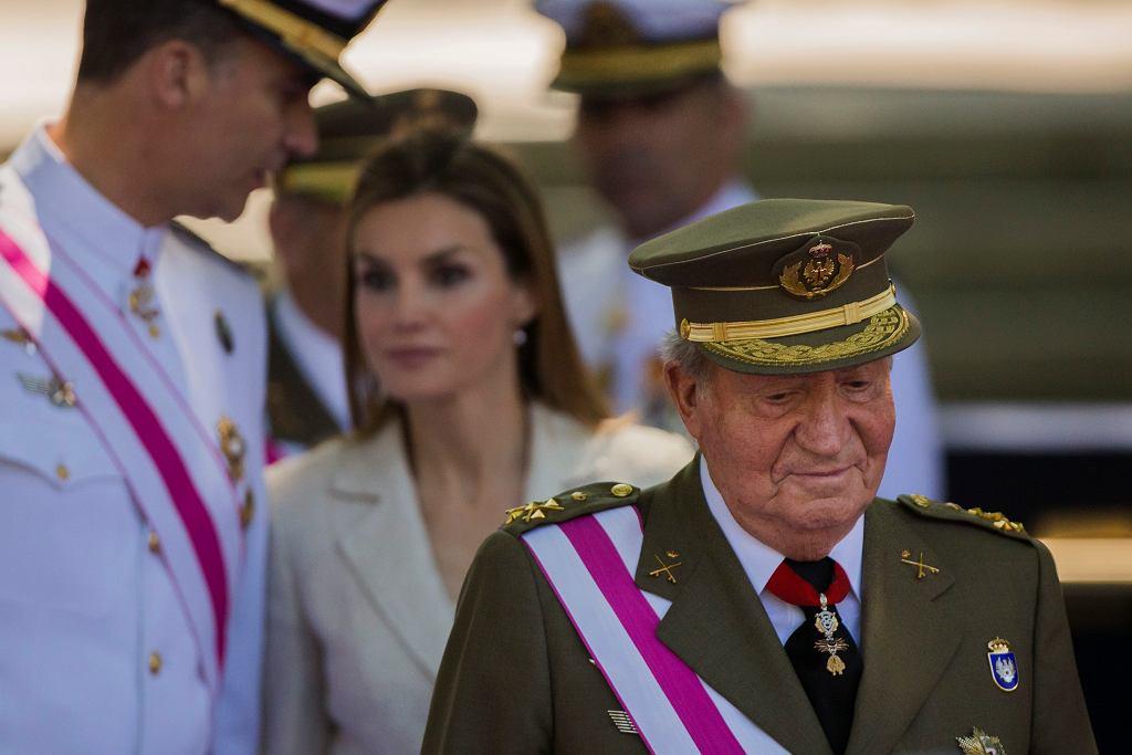 Hiszpania. Były król Juan Carlos.