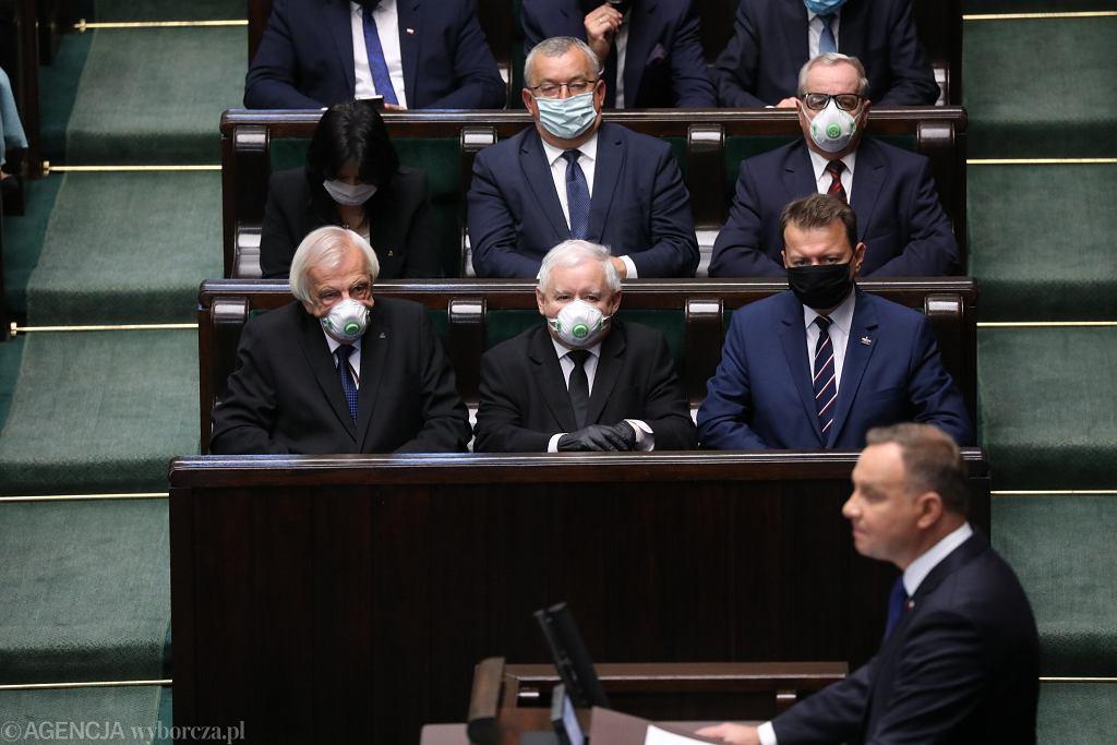 0Zaprzysiezenie Prezydenta Andrzeja Dudy w Sejmie
