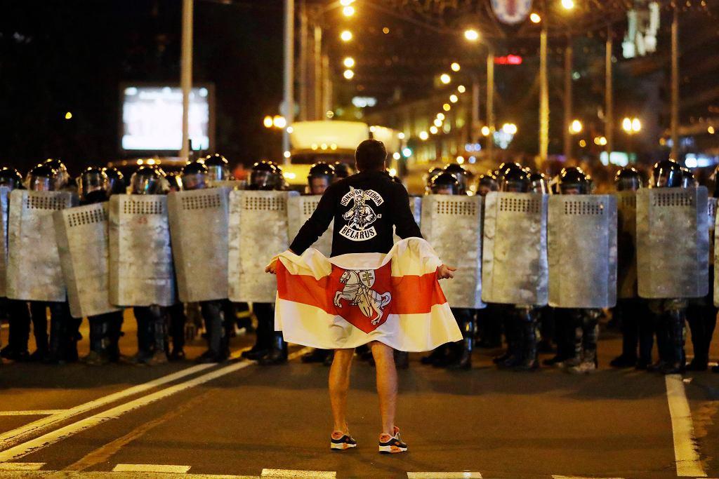 Białoruś. Protesty po sfałszowanych wyborach