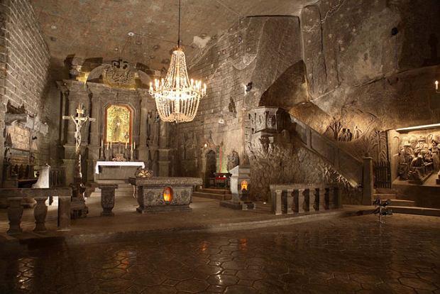 Kopalnia soli 'Wieliczka' pod Krakowem