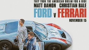 Ford v Ferrari - plakat filmu