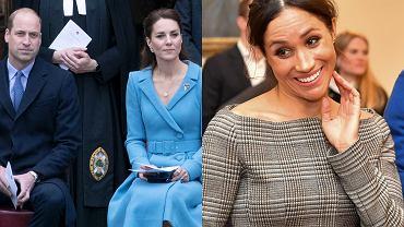 książę William, księżna Kate, Meghan Markle