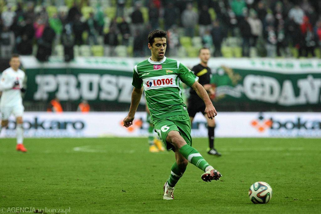 Były piłkarz Lechii Tiago Valente