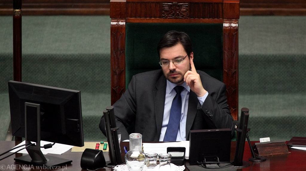 Wicemarszałek Sejmu, poseł Kukiz'15 Stanisław Tyszka
