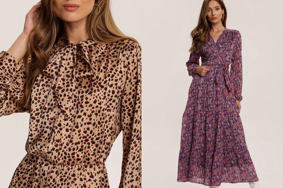 Najmodniejsze sukienki na jesień