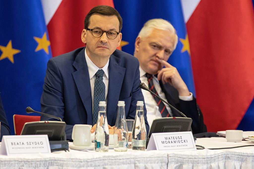 Mateusz Morawiecki, Jarosław Gowin