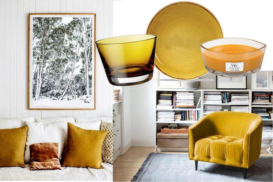 Miodowa żółć Najmodniejszy Kolor Do Twojego Mieszkania