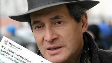 Zbigniew Hołdys komentuje słowa Jerzego Zelnika