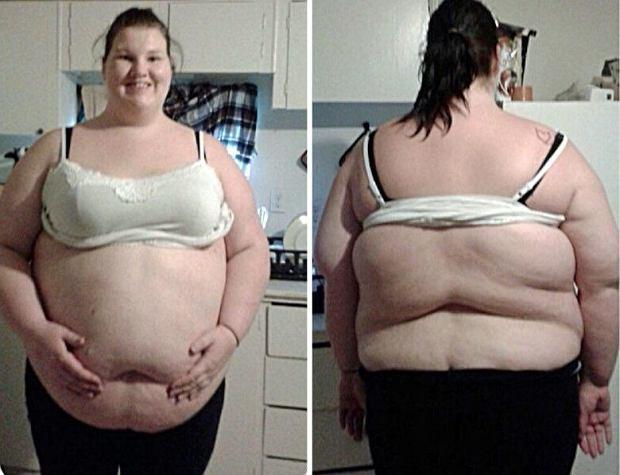 Tiffaney ważyła ponad 190 kilogramów