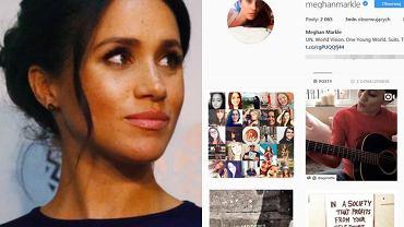 Meghan Markle / Screen z Instagrama księżnej