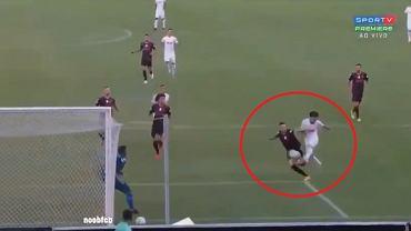 Cudowny gol w lidze brazylijskiej