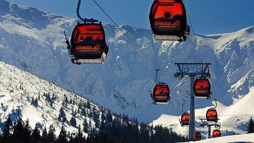 Gondole Grand Jet na Chopoku na Słowacji - ośrodek narciarski Jasna Tatry Niskie