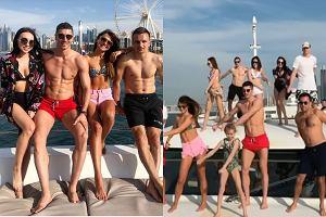 Lewandowscy, Szczęśni i Peszko bawią się w Dubaju
