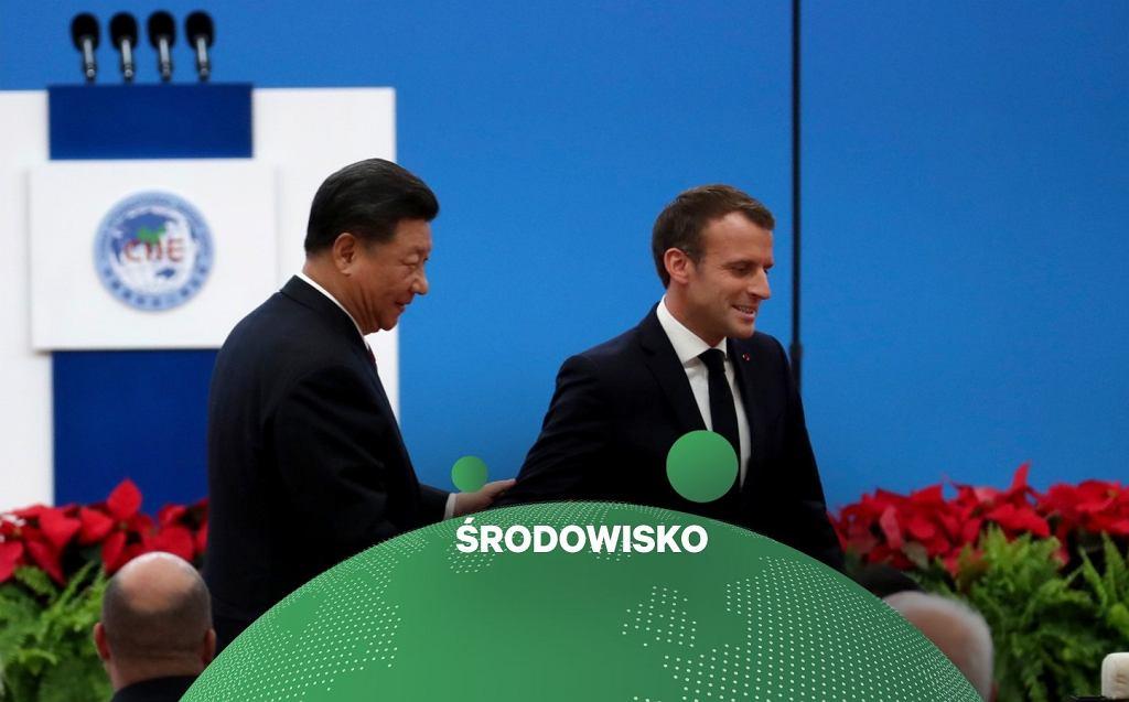 Francja i Chiny wbrew Trumpowi ogłoszą 'nieodwracalność porozumienia paryskiego'