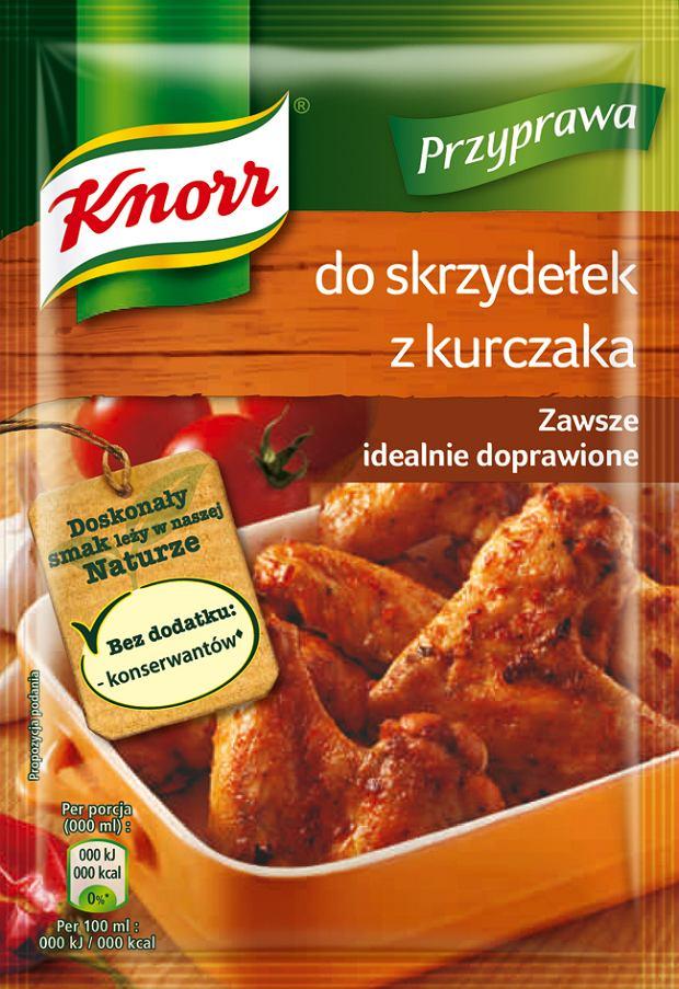 Przyprawa do kurczaka w ziołach prowansalskich Knorr Przyprawa do skrzydełek z kurczaka Knorr