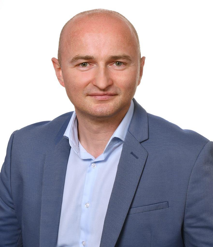 Prezes Endolink Piotr Cioch