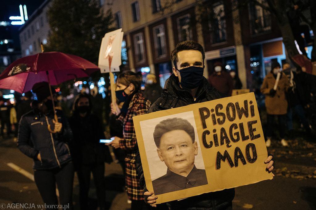 Manifestacje przeciwko zaostrzeniu prawa aborcyjnego w Polsce (zdjęcie ilustracyjne)