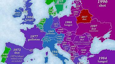 Kara śmierci w Europie