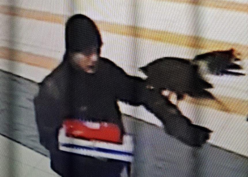 Policja poszukuje mężczyzny odpowiedzialnego za kradzież myszołowca towarzyskiego na Targówku