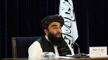 Rzecznik talibów Zabiullah Mujahid