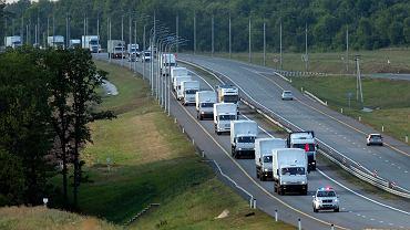 """Rosyjski konwój """"Czerwonego Krzyża"""""""