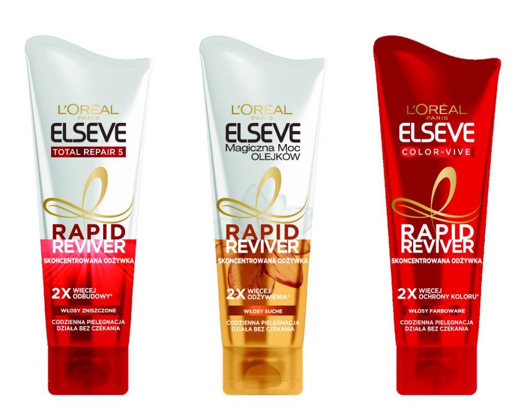 Nowość od L'Oréal Paris - Elseve Rapid Reviver
