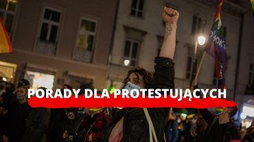 Porady dla protestujących