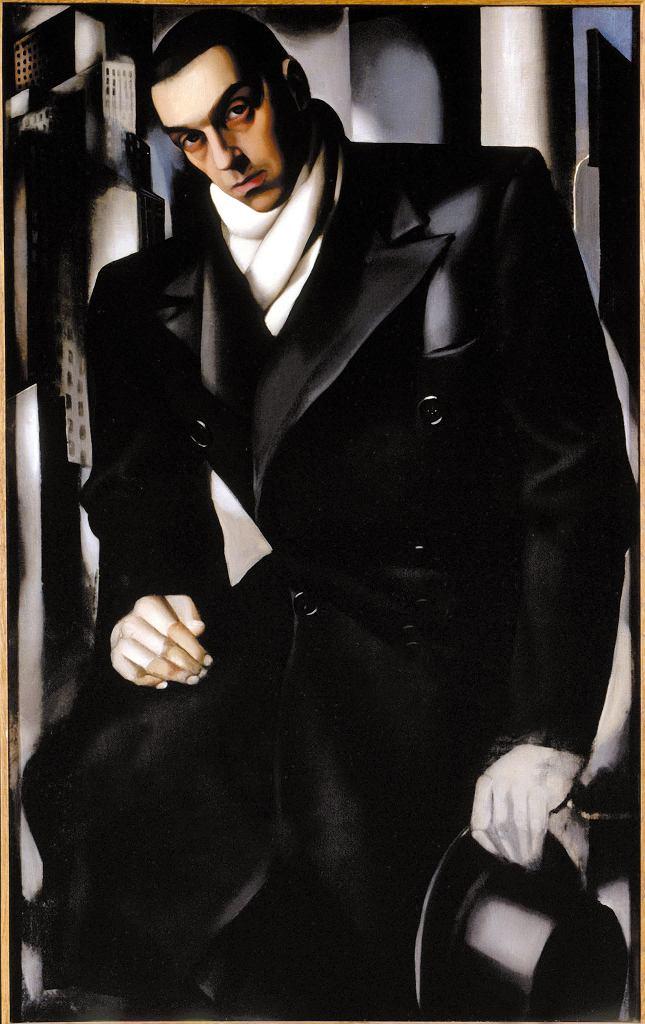 'Niedokończony mężczyzna', portret Tadeusza Łempickiego autorstwa Tamary Łempickiej