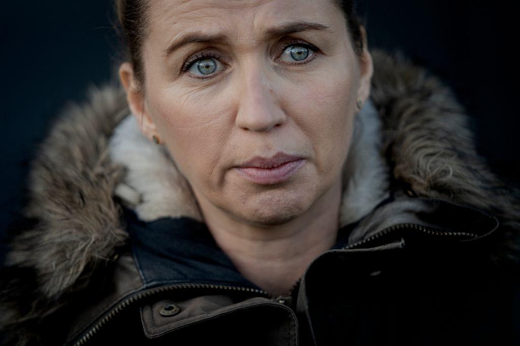 Mette Frederiksen na fermie norek