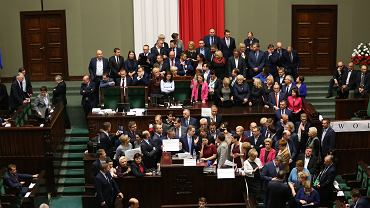 Okupacja mównicy sejmowej 16 grudnia 2016 roku
