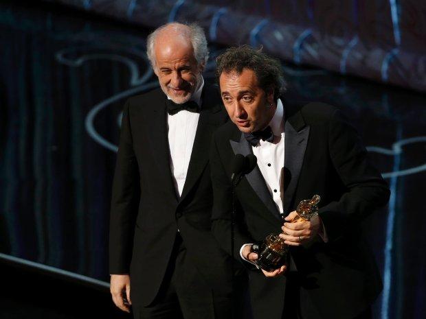 Reżyser Paolo Sorrentino i aktor Tony Servillo