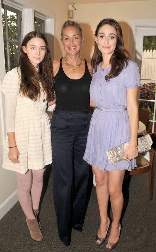 Sharon Stone, Emmy Rossum, Rooney Mara