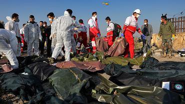 8.01.2020, Teheran, ofiary zestrzelenia ukraińskiego Boeinga.