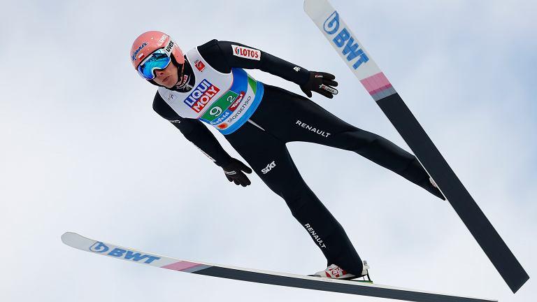 Znalezione obrazy dla zapytania skoki narciarskie
