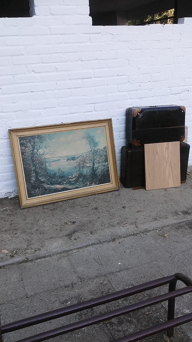 Śmietniki wystawki
