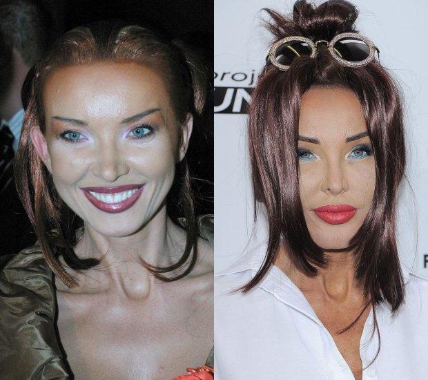 Ewa Minge w 2002 i 2015 roku
