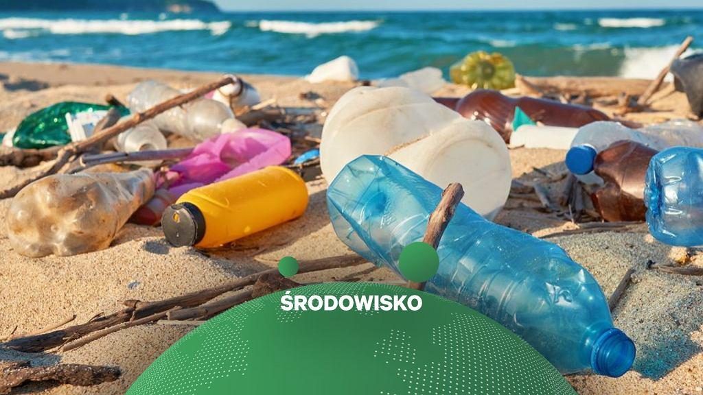 Plastikowe odpady zanieczyszczają morza i oceany