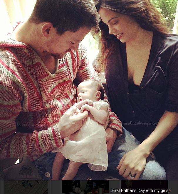 Channing Tatum, Everly, Jenna Dewan-Tatum