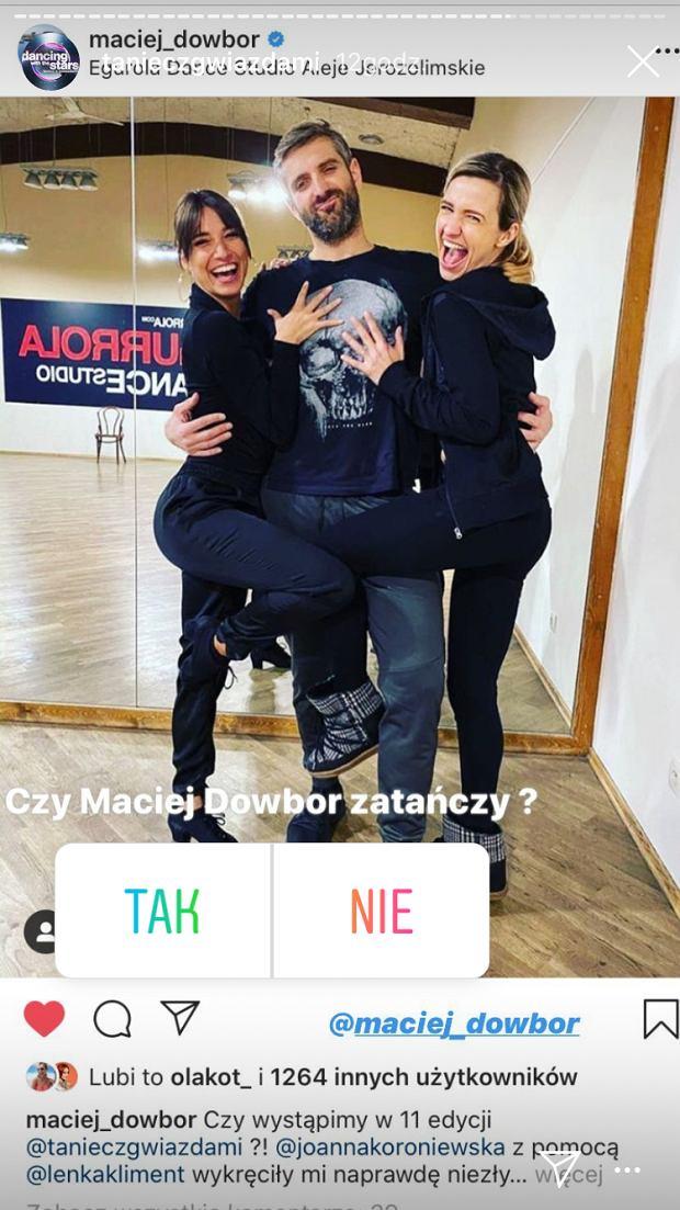 Joanna Koroniewska, Maciej Dowbor, Lenka Klimentowa