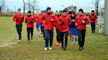 Pierwszy trening Odry Opole w 2015 roku