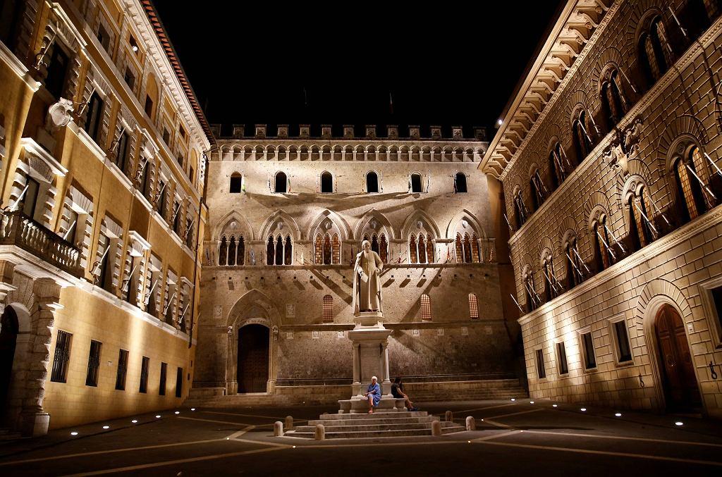 Jest najstarszy na świecie i ma kolosalne problemy finansowe. Tak wygląda siedziba Monte dei Paschi di Siena.
