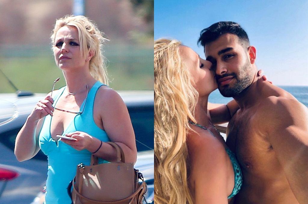 Britney Spears z partnerem