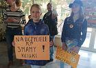 Strajk nauczycieli. Ogromne wsparcie uczniów z Opola. Są manifestacje pod kolejnymi szkołami