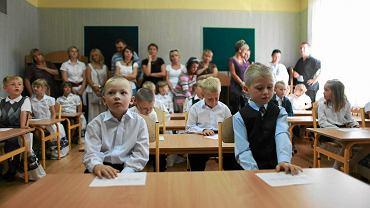 Klasa 6-latków. Od kilku lat trwa dyskusja, czy posyłanie dzieci w tym wieku do szkoły przyniesie korzyści