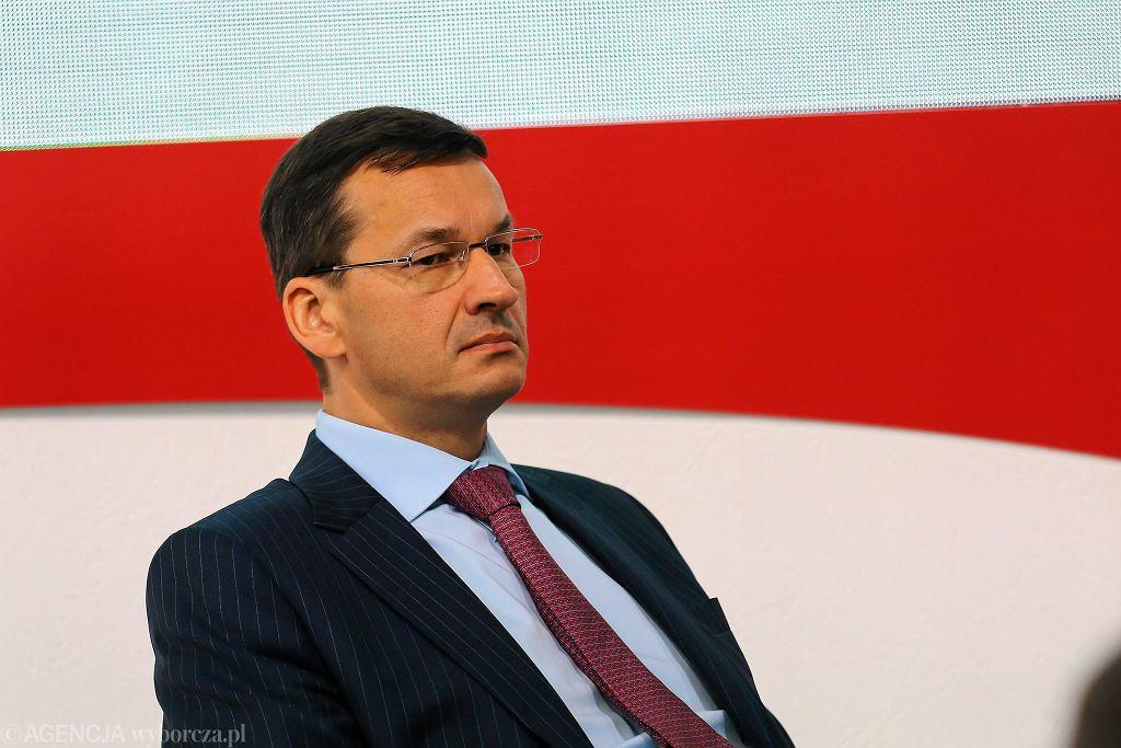 Minister rozwoju Mateusz Morawiecki