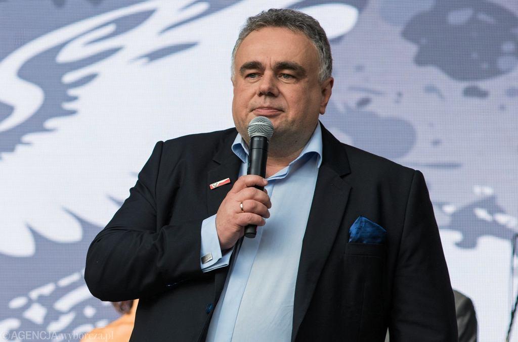 Tomasz Sakiewicz, redaktor naczelny 'Gazety Polskiej'
