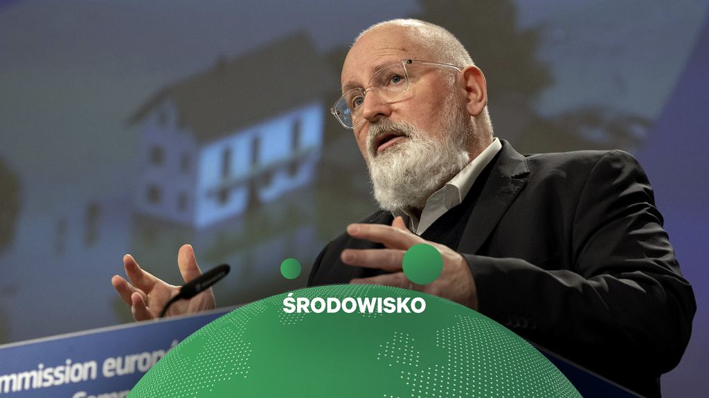 Frans Timmermans ,Wiceprzewodniczący wykonawczy do spraw Europejskiego Zielonego Ładu